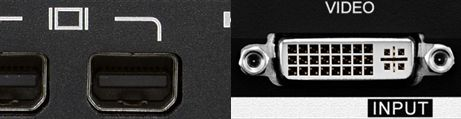 DVI vers Mini Displayport
